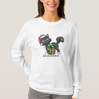Christmas Cat holiday t-shirt