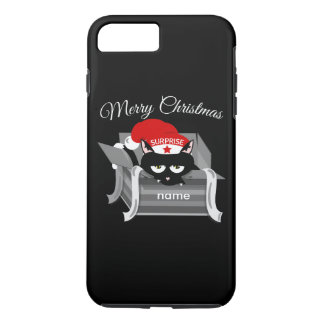 Christmas Cat in a Gift Box iPhone 8 Plus/7 Plus Case