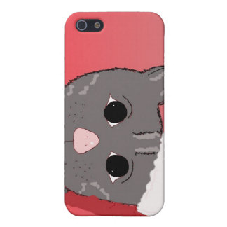 Christmas Cat in a Santa Hat Cover For iPhone SE/5/5s