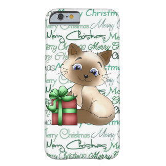 Christmas cat iPhone 6/6s barely there case