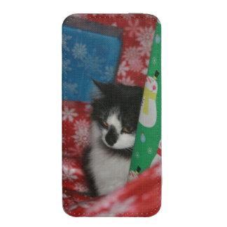 Christmas Cat iPhone SE/5/5s/5c Pouch