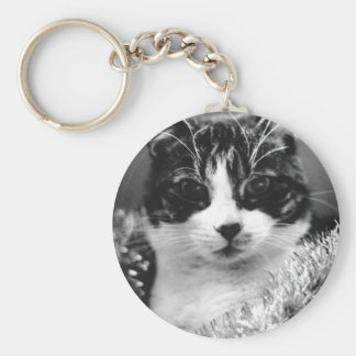 Christmas Cat Key Chains
