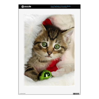 Christmas cat -kitten cat - cute cats skins for PS3 console