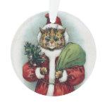 Christmas cat, Louis Wain