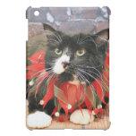 Christmas - Cat - Oscar iPad Mini Covers