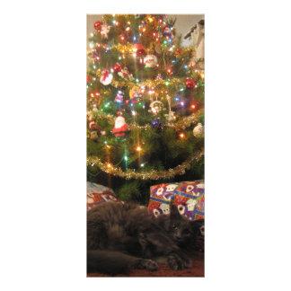 Christmas Cat Rack Card