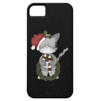 Christmas Cat Santa iPhone SE/5/5s Case