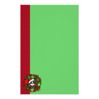 Christmas Cat Stationery Paper