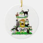 Christmas Cat Tree Ornament