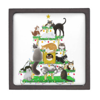 Christmas Cat Tree Premium Gift Box