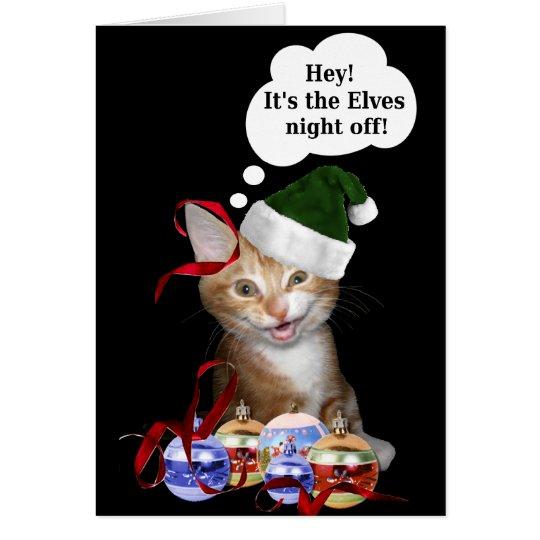 Christmas catastrophe! card