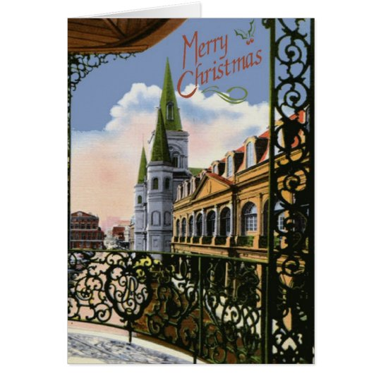 Christmas Cathedral Card