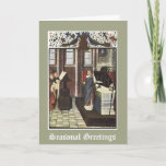 Christmas Cathedral Priest Altar Card