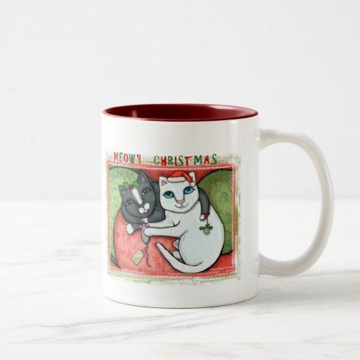 Christmas Cats Coffee / Tea Mug