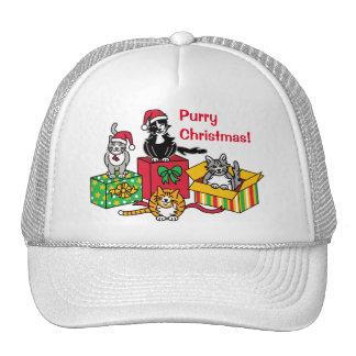 Christmas Cats Trucker Hat