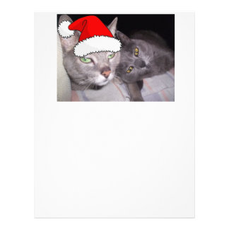 Christmas Cats Letterhead