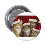 Christmas cats pin