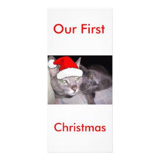 Christmas Cats Rack Card