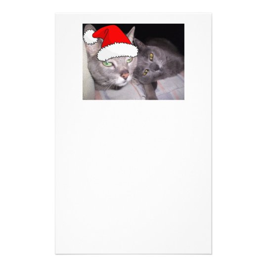 Christmas Cats Stationery