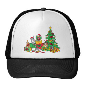 Christmas Cats Trucker Hat