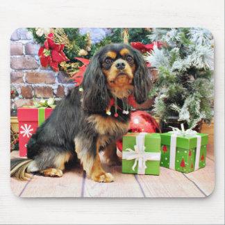 Christmas - Cavalier - Charlie Mouse Pad
