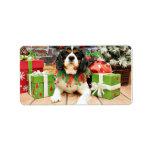 Christmas - Cavalier King Charles Spaniel - Bandit Custom Address Labels