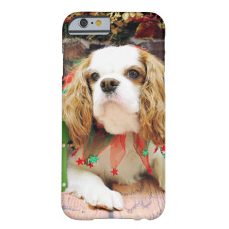 Christmas - Cavalier King Charles Spaniel Mei  Barely There iPhone 6 Case