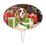 Christmas - Cavalier King Charles Spaniel - Poppy Cake Pick