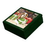 Christmas - Cavalier King Charles Spaniel - Poppy Trinket Boxes