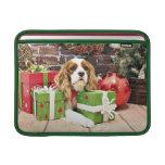 Christmas - Cavalier King Charles Spaniel - Poppy MacBook Air Sleeves