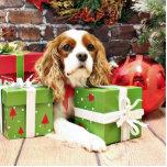 Christmas - Cavalier King Charles Spaniel - Poppy Cut Out