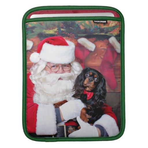 Christmas - Cavalier King Charles Spaniel - Spence iPad Sleeves