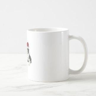 Christmas Cavaliers Classic White Coffee Mug