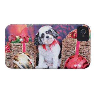 Christmas - Cavashon - Bandit iPhone 4 Case-Mate Cases