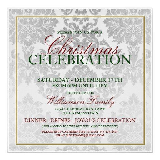 Company Christmas Party Invites – Company Christmas Party Invitation Templates
