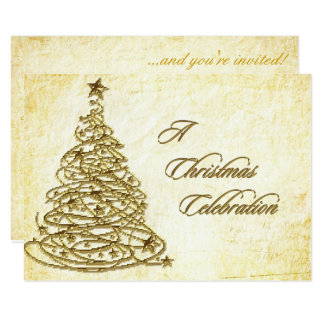Christmas Celebration RSVP Card