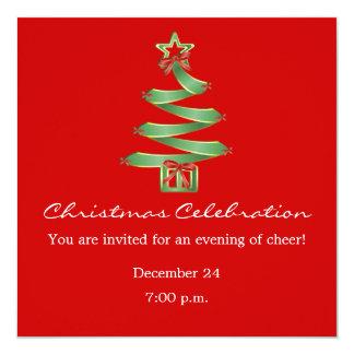 Christmas Celebration X-Mas Tree Card