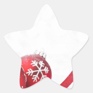 Christmas Celebrations Star Sticker