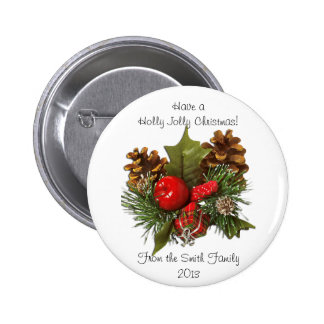 Christmas Centerpiece Design Button