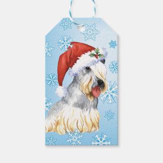 Christmas Cesky Terrier Gift Tags