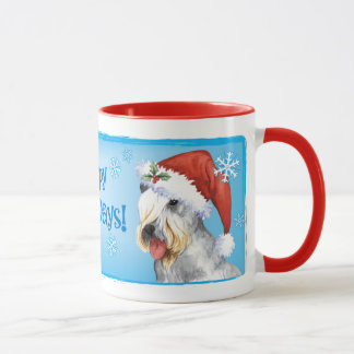 Christmas Cesky Terrier Mug