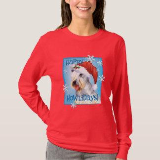 Christmas Cesky Terrier T-Shirt