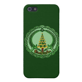 Christmas Chaddagh Case For iPhone 5