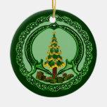 Christmas Chaddagh Ceramic Ornament