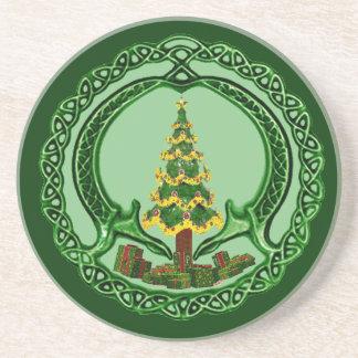 Christmas Chaddagh Coaster