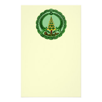 Christmas Chaddagh Stationery Paper
