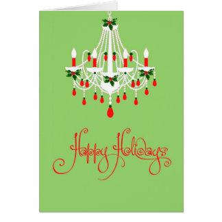 Christmas Chandelier Card