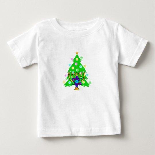 Christmas & Chanukah Baby T-Shirt