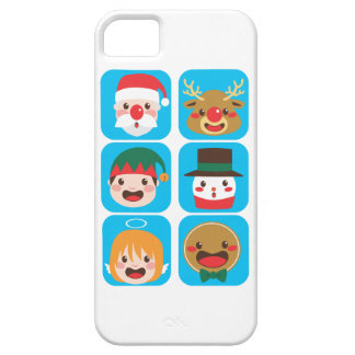 Christmas Character Faces iPhone 5 Cover