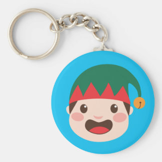 Christmas Character Faces Keychain
